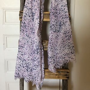 AMERICAN EAGLE Purple Spotted Scarf